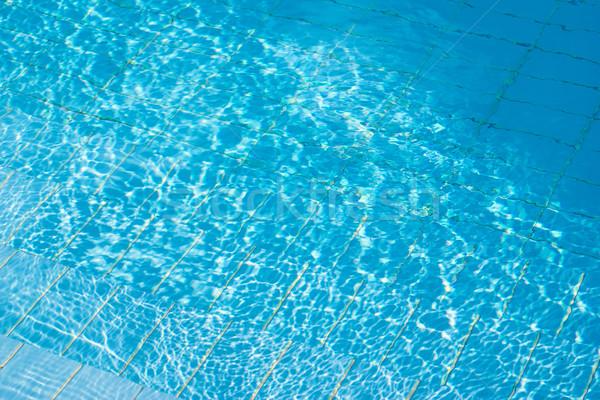 нижний бассейна плиточные Бассейн воды плаванию Сток-фото © timbrk