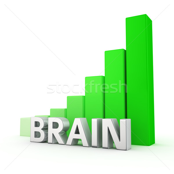 Growth of Brain Stock photo © timbrk