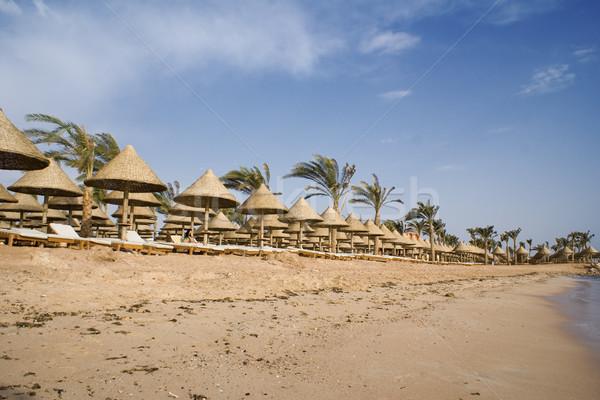 Resort beach Stock photo © timbrk