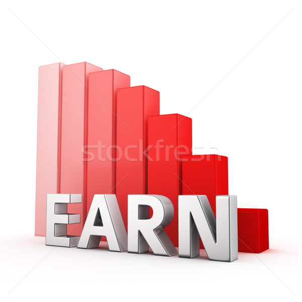 Reduction of Earn Stock photo © timbrk