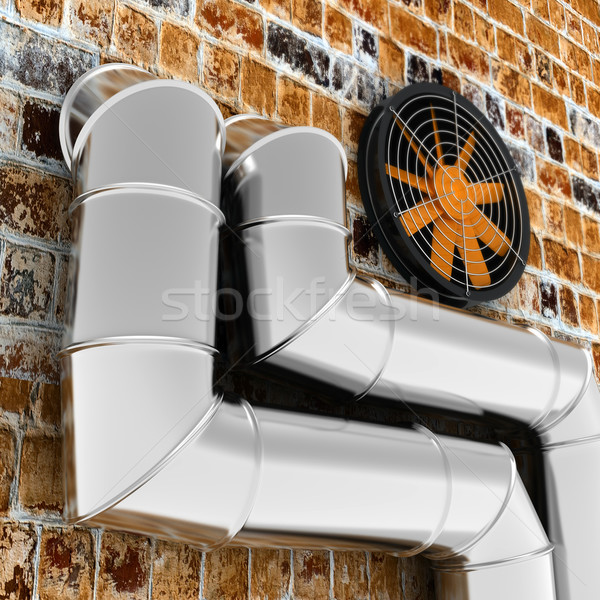 Air condition system Stock photo © timbrk