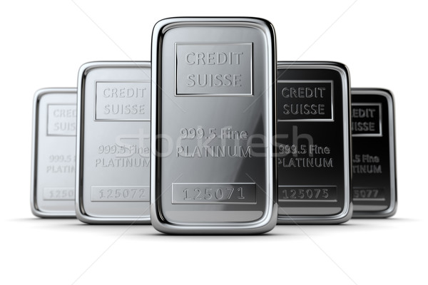 Platinum bars Stock photo © timbrk