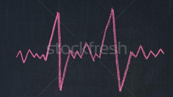 Cardiogram Stock photo © timbrk