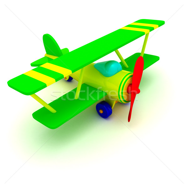 Toy plane Stock photo © timbrk