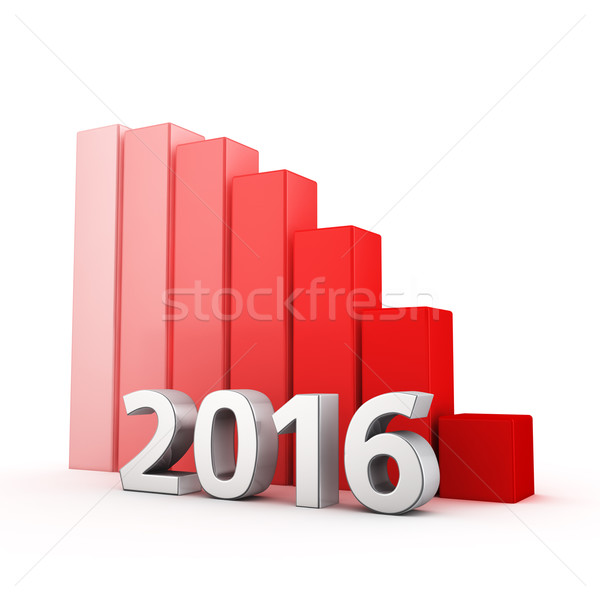 Reduction of 2016 Stock photo © timbrk