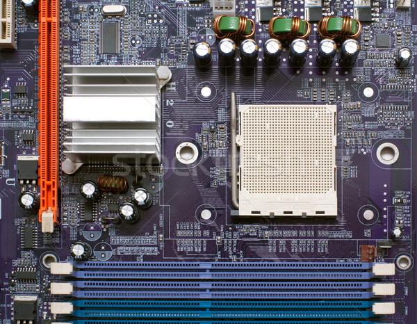 Close-up of mainboard Stock photo © timbrk