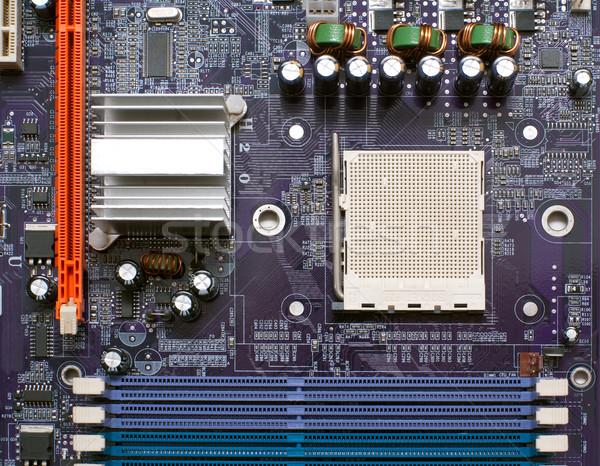 Fragment computer bewerker geheugen technologie Stockfoto © timbrk