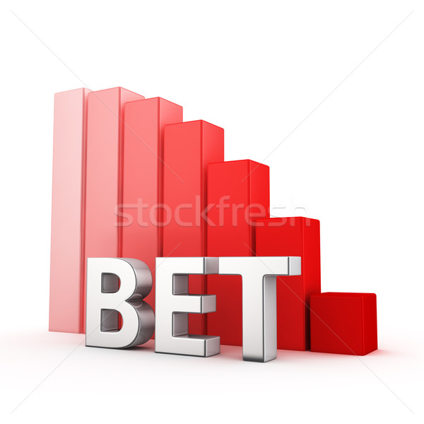 Reduction of Bet Stock photo © timbrk