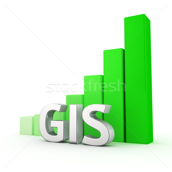 Growth of GIS Stock photo © timbrk