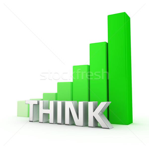 Growth of Think Stock photo © timbrk