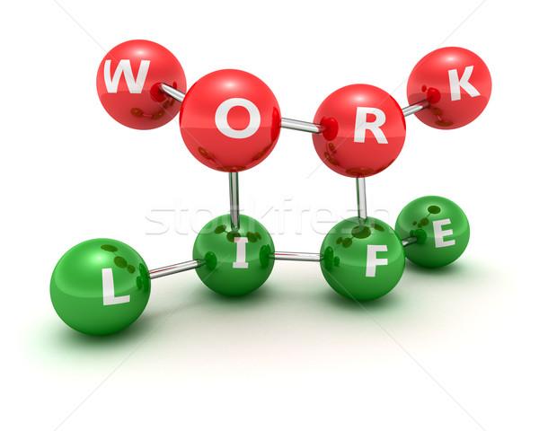 作業 生活 相関 コンピュータ 建設 ネットワーク ストックフォト © timbrk