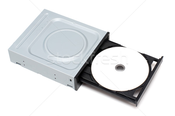 Disk in tray Stock photo © timbrk