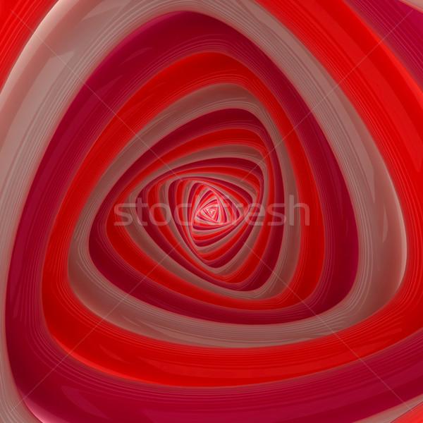 аннотация вихревой красный розовый цветами цвета Сток-фото © timbrk