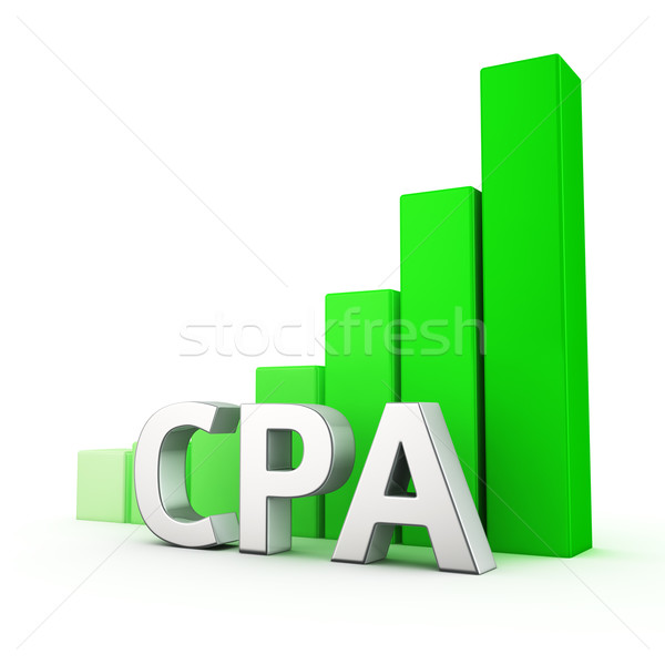 Growth of CPA Stock photo © timbrk