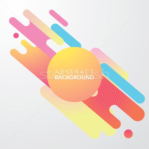 modern diagonal abstract background. design concept. vector Stock photo © tina7shin