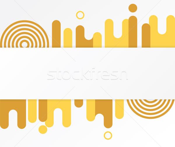 modern abstract shapes Stock photo © tina7shin