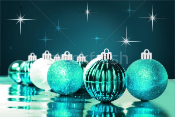 Renkli Noel farklı ışık Stok fotoğraf © tish1