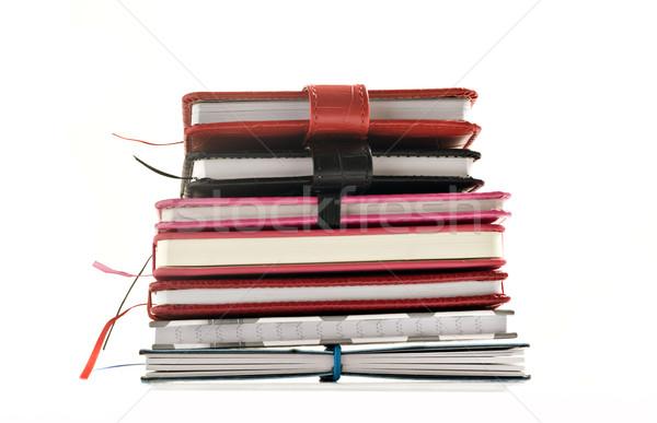 Up livres blanche espace Photo stock © tish1