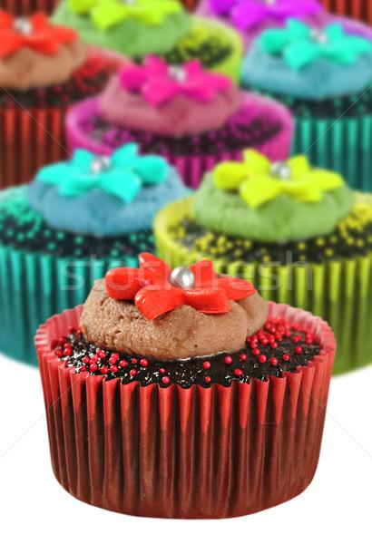 Chocolate colorido diferente cor Foto stock © tish1