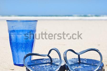 Сток-фото: коллаж · воды · стекла · лет · океана