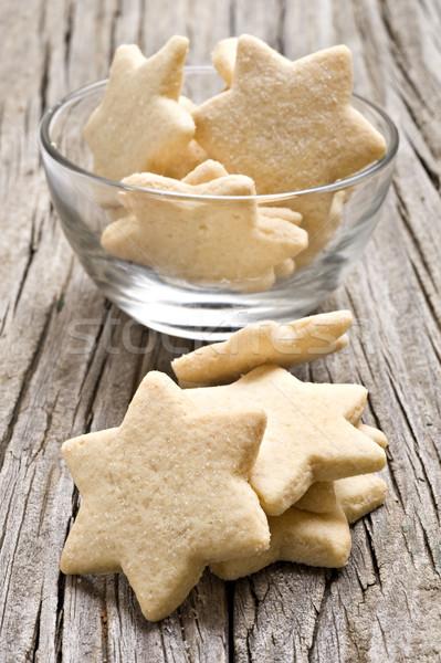 Stok fotoğraf: şeker · kurabiye · star · yukarı