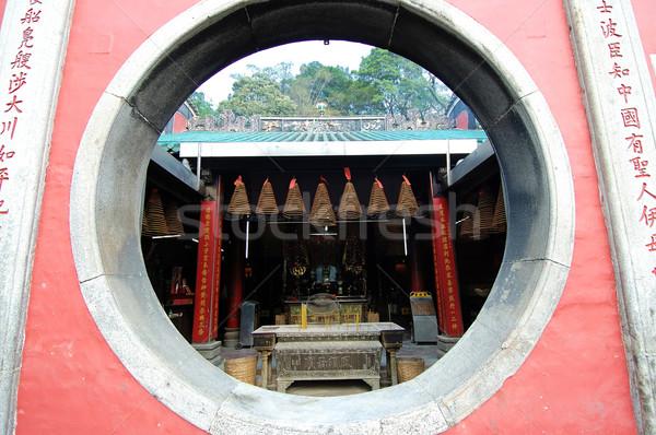 Window of temple Stock photo © tito