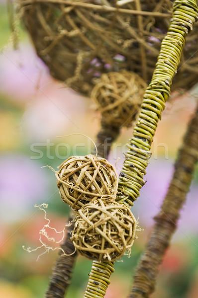 Decorativo secado arte pelota Foto stock © tito