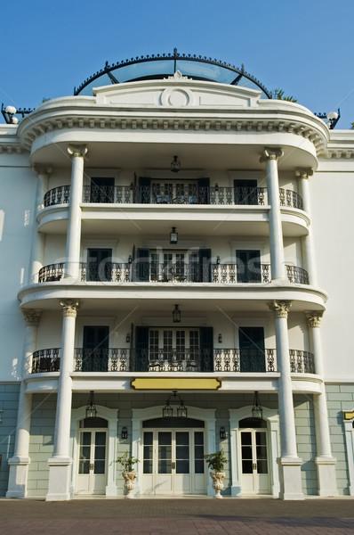 Foto stock: Hotel · fachada · vista · apartamento · negocios · edificio
