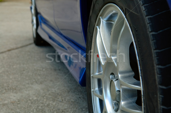 Close up of car wheel Stock photo © tito