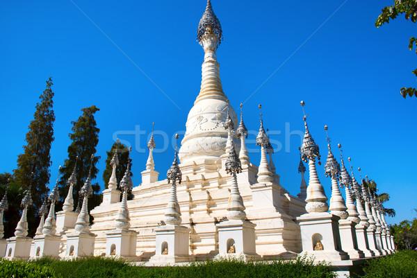 White pagoda Stock photo © tito