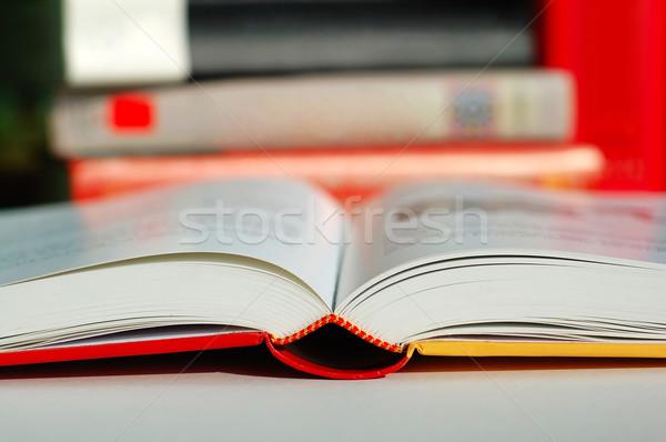 Book reading Stock photo © tito