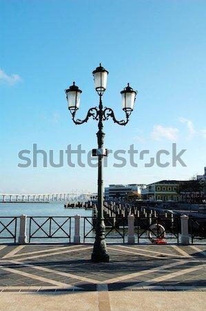 Antique street lamp Stock photo © tito