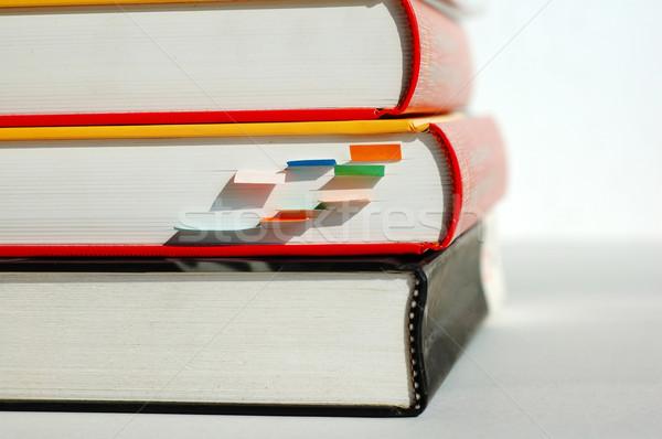 Three piled books Stock photo © tito