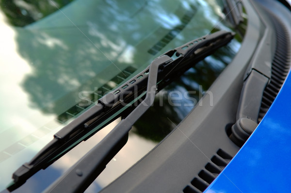 Car windshield wiper Stock photo © tito