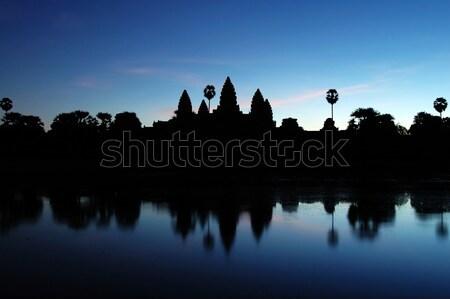 Angkor Wat at Dawn Stock photo © tito