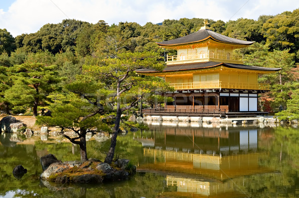 Golden Pavilion Stock photo © tito