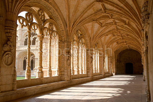 Mosteiro Dos Jeronimos Stock photo © tito