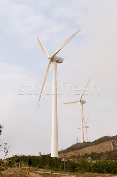 Wind turbines Stock photo © tito