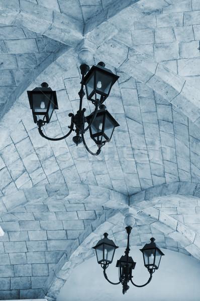The roof of Roman architecture Stock photo © tito