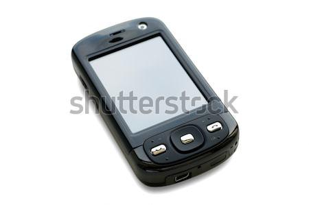 Geïsoleerd zak computer witte telefoon telefoon Stockfoto © tito