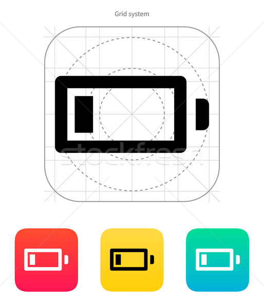 Little charge battery icon. Vector illustration. Stock photo © tkacchuk