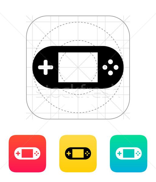 геймпад экране икона интернет кадр знак Сток-фото © tkacchuk