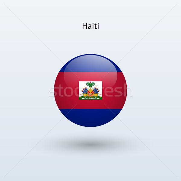 ハイチ フラグ グレー にログイン ウェブ 旅行 ストックフォト © tkacchuk