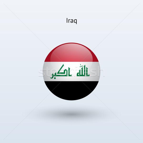 イラク フラグ グレー にログイン ウェブ 旅行 ストックフォト © tkacchuk