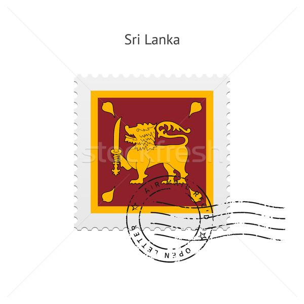 Sri Lanka bandera blanco signo carta Foto stock © tkacchuk