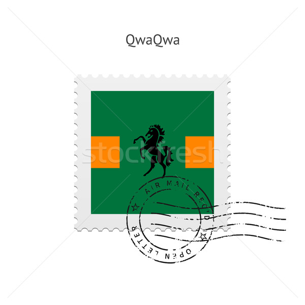 QwaQwa Flag Postage Stamp. Stock photo © tkacchuk