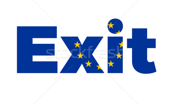Exit from European Union on Referendum. Stock photo © tkacchuk