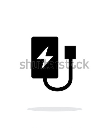 Drone charger simple icon on white background. Stock photo © tkacchuk
