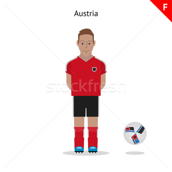 Football kit. Austria Stock photo © tkacchuk
