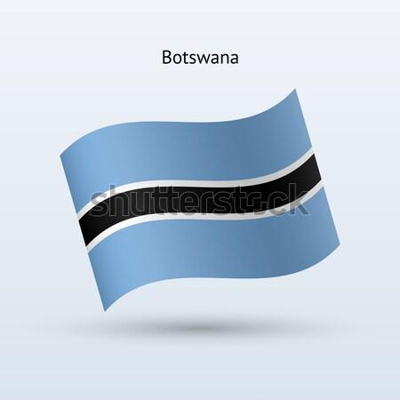 Estland vlag vorm grijs teken Stockfoto © tkacchuk